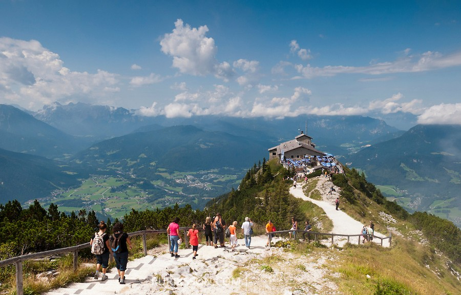 The Kehlsteinhaus (also known as the Eagle's Nest)